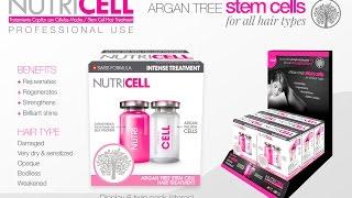Ботокс для волос NUTRICELL 2 технология Регенерация клетками дерева арганы BIO Fix Nanokeratin