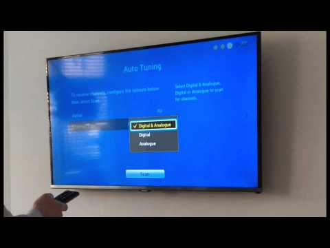 How to auto tune a Samsung TV