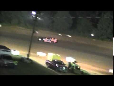 Crowley's Ridge Raceway 7/12/14 #21 Chris Sims Street Stock Feature Race