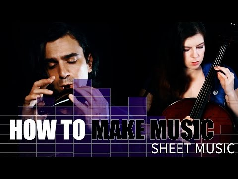 Create your own SHEET MUSIC! (And new song sneak peek.) Finale tutorial.