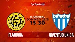 Flandria vs Juv.Unida Gualeguaychu full match