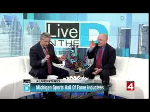 WDIV 2015 Michigan Sports Hall of Fame Interview