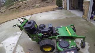 NEW MOWER! John Deere 7H17 Walk Behind