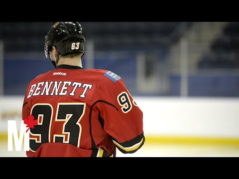 Calgary Flames rookie Sam Bennett is chasing the dream