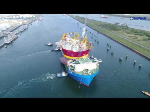 Xin Guang Hua I FPSO Western Isles I Rotterdam Arrival I 13.04.2017 by Fairplay & Multraship Towage