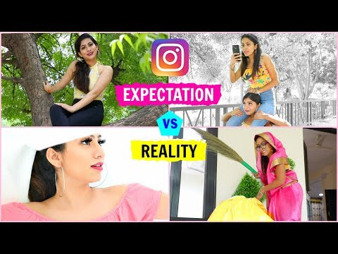 INSTAGRAM - Expectation vs Reality   Hacks & Tricks for Perfect Pictures   #Fun #Anaysa