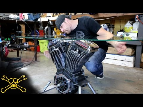 Making a Harley Davidson Engine Table