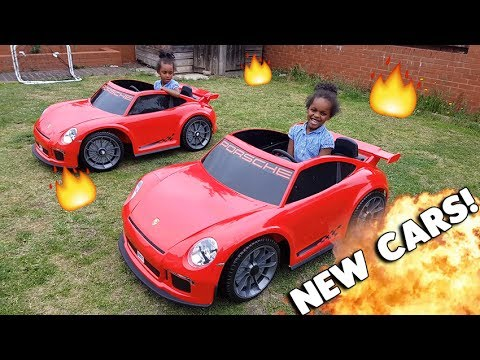 KIDS go Shopping for CARS!! | Twin Vs Twin Buy New PORSCHE cars!!