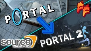 Source Mounting: Portal 1 Mounted onto Portal 2