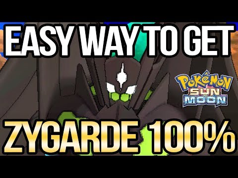 How to Get 100% Zygarde Complete Forme in Sun and Moon   Austin John Plays