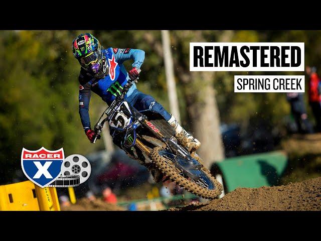 Remastered | 2020 Spring Creek Pro Motocross National | Racer X Films