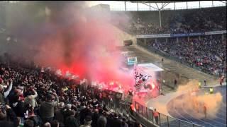 Pyro in Berlin - unnötig oder Kult? Eintracht Frankfurt erwartet Geldstrafe - was sagen Fans dazu?
