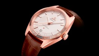 OMEGA Globemaster in Sedna™ Gold TV campaign