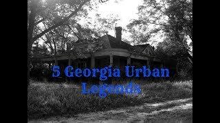 Creepy Georgia Stories Legends