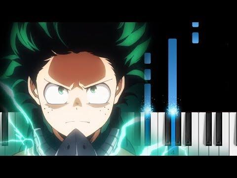 """Boku No Hero Academia Season 3 OP - """"ODD FUTURE"""" - Piano Tutorial"""