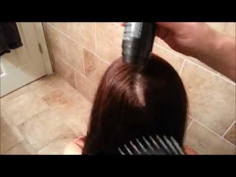 Fibond Wide Part In Womens Hair Shows To Much Scalp
