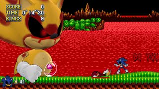 Classic Sonic EXE Mania Plus Mod + Double Special Bosses Plus V3.0