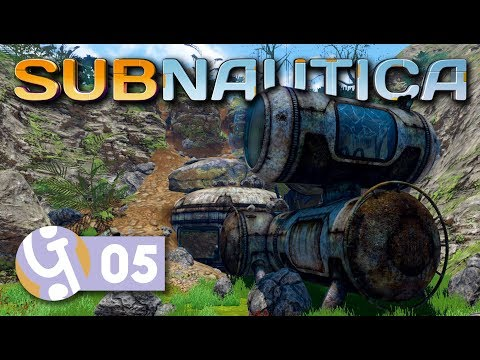 Floating Island! | Let's Play Subnautica #05