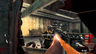 Call of Duty:Black Ops PC Zombie Gameplay GTX 580