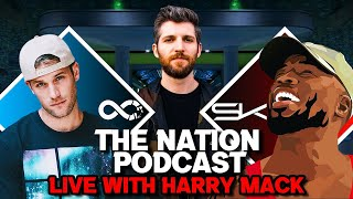 Download Knox Hill & Stevie Knight LIVE WITH HARRY MACK!!   The Nation Podcast