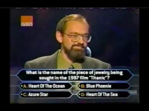 Who Wants to be a Millionaire Nov. 1999 PREMEIRE - PARTIAL SHOW