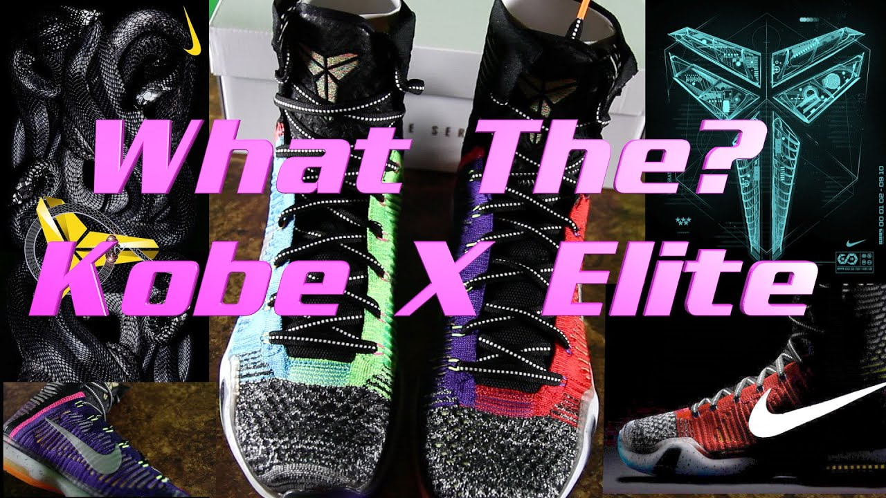 new product e80e8 eff9d Unboxing and Review of Nike  What The  Kobe X Elite WTK. Sneaker Finesse
