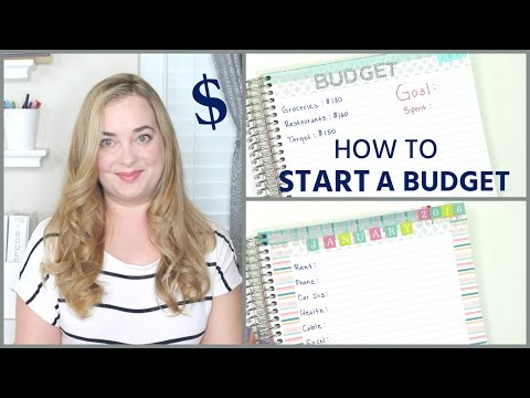 How To Start a Budget | Simple, Easy Tips