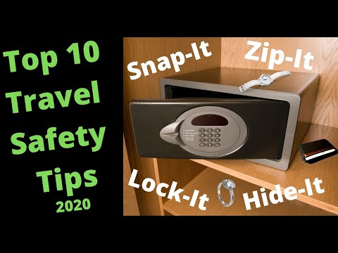 Safety Travel Tips – Essential Travel Safety Tips