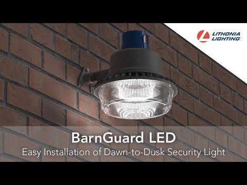 BarnGuard LED Security Light Easy Installation