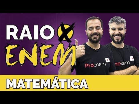 Raio X ENEM: Os mais cobrados de Matemática - Prof. Diego Viug e Vitor Israel