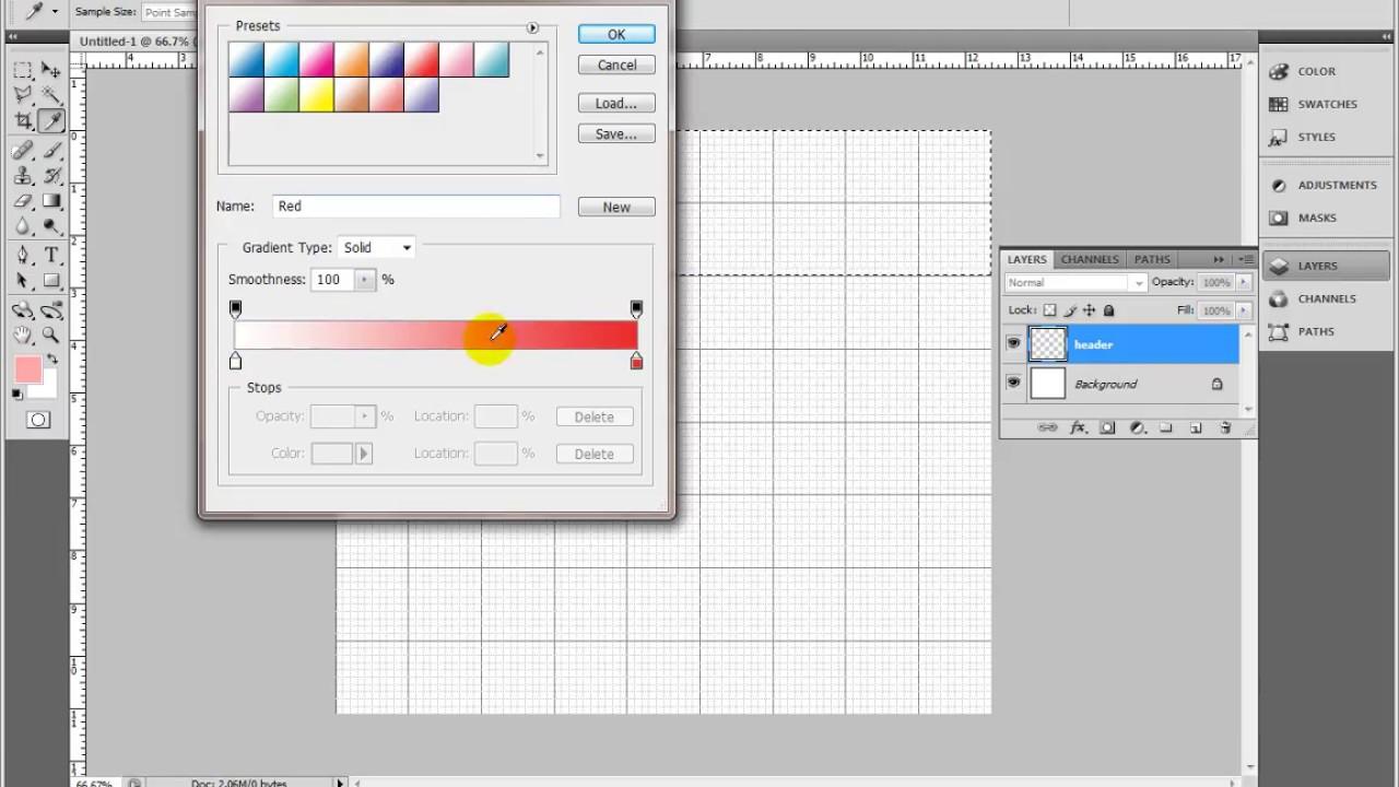 Mudah...! Begini Cara Membuat Desain Web dengan Photoshop