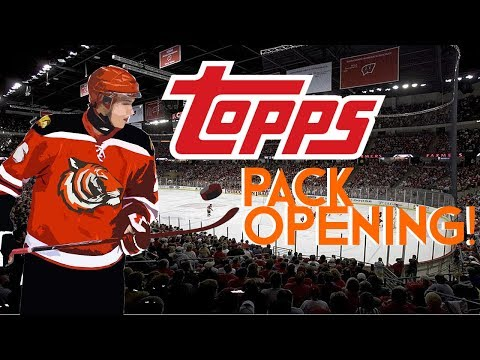 Topps NHL Skate 18 pack opening! | GOING FOR GOLD!