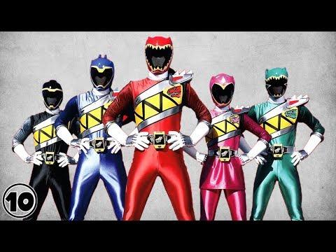 Top 10 Worst Power Ranger Suits