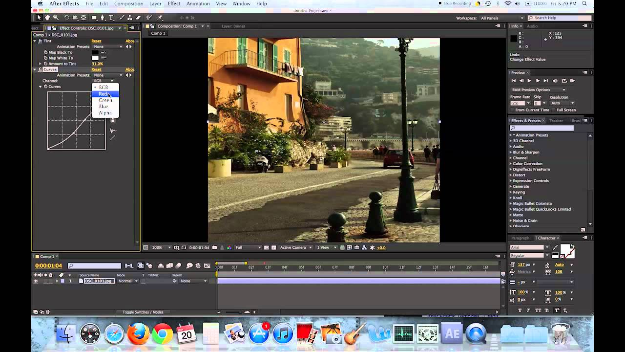 Beginner Color Correcting In After Effects