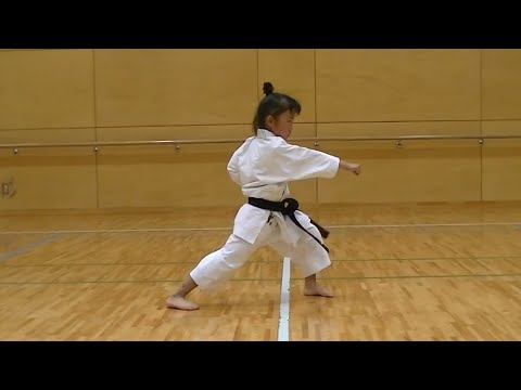 7 Year Old Girl Karate Master | Incredible Kankudai Demo