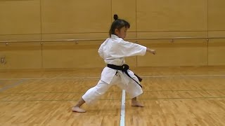 7 Year Old Girl Karate Master | Incredible Kankudai Demo thumbnail