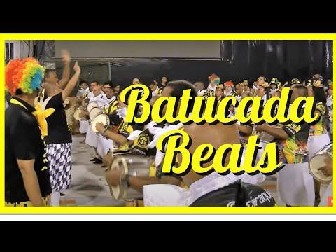 BATUCADA GROOVES AND STOPS BEATS: BATERIA FASCINATING SAMBA DRUMMING