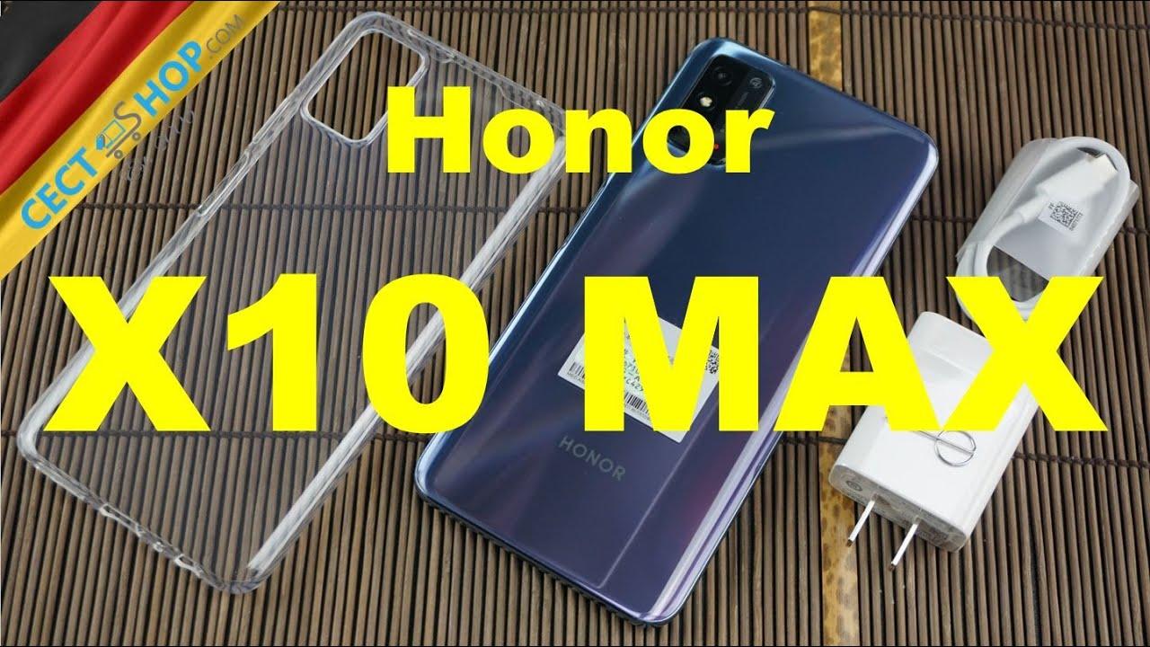 XXL Smartphone HONOR X10 MAX Unboxing & Hands-On | CECT-Shop.com [Deutsch]