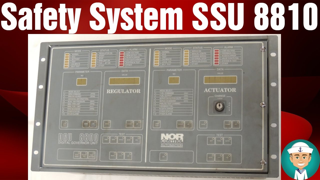 Safety System SSU 8810