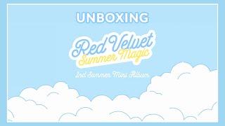 """Red Velvet (레드벨벳) : 2nd Summer Mini Album """"SUMMER MAGIC"""" (Un…"""