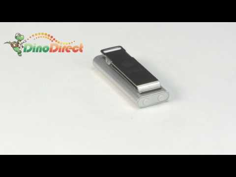 New 4GB Mini Stainless Steel Shell Clip MP3 Player Silver  from Dinodirect.com