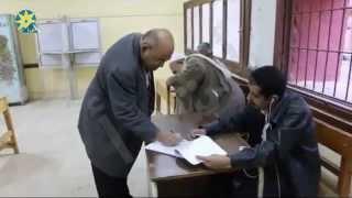 بالفيديو:اقبال ضعيف على مدارس روض الفرج بالجولة الثانية من الانتخابات