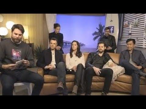 The Man in the High Castle stars Alexa Davalos, Luke Kleintank, Rupert Evans, DJ Qualls