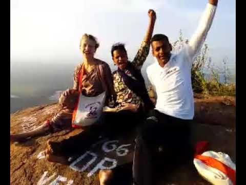 Participants of YSS-Dec 2017 of Vivekananda Kendra, Kanyakumari are at the top of the Maruttha Malai