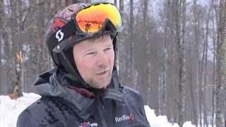 Заготовка снега на олимпийских склонах Сочи