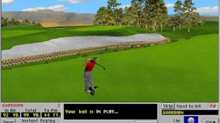 Links: Championship Course - Castle Pines Golf Club (Access Software) (MS-DOS) [1994]