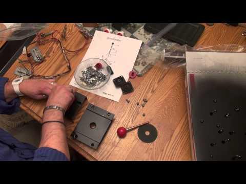 Midway Pac-Man Mini Restore - Part 7 - Liquid Mask, Rebuilding Pac-Man Joystick, Applying CPO