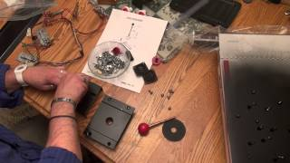 Midway Pac-man Mini Restore - Part 7 - Liquid Mask, Rebuilding Pac-man Joystick, Applying Cpo