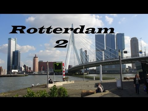 Netherlands-Rotterdam-Holland  (Walking tour Part 5)