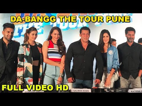 Salman Khan Da-Bangg Tour | Pune FULL Video HD | Katrina Kaif, Sonakshi Sinha, Daisy Shah